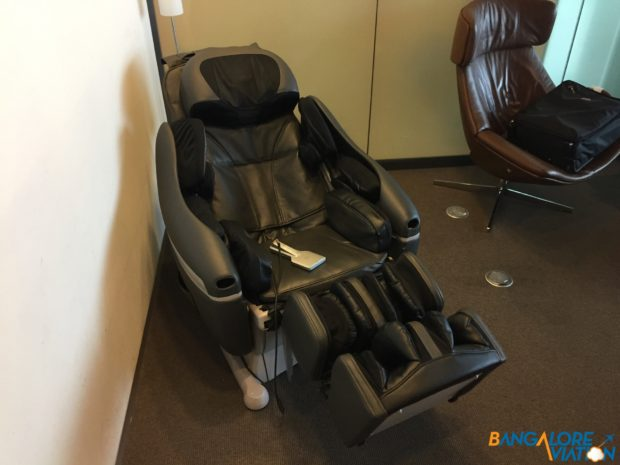 A couple of massage chairs if your so desire.
