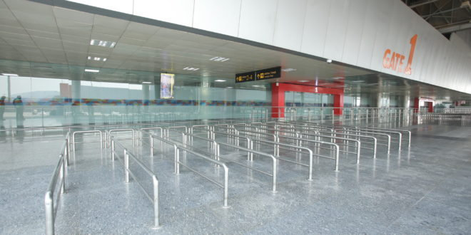 Renovated T2 at New Delhi IGI airport