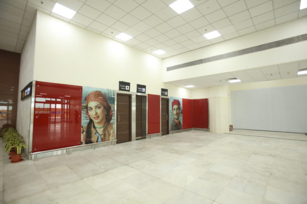 Renovated T2 at New Delhi IGI airport