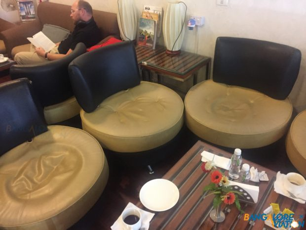 A sofa cluster at the lounge.