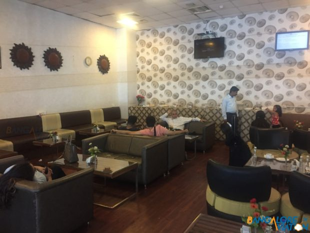 Almost the entire port lounge in Ahmedabad.