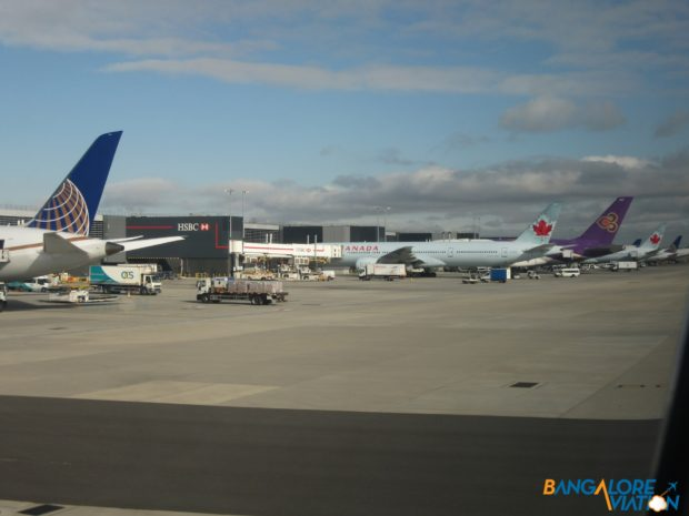 The ramp at Terminal 2 in Heathrow.