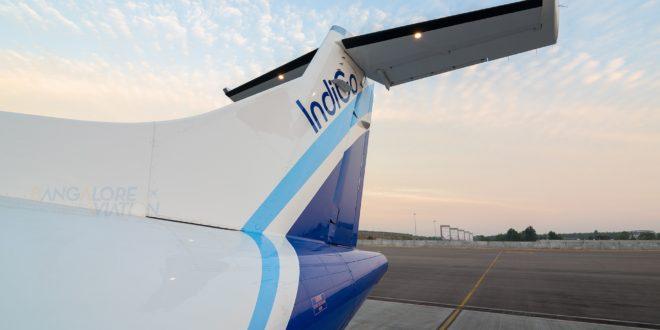 IndiGo ATR72-600 VT-IYA. Photo by Vedant Agarwal. Copyright. Do not re-use.