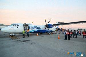 IndiGo Airlines ATR 72-600 VT-IYA.