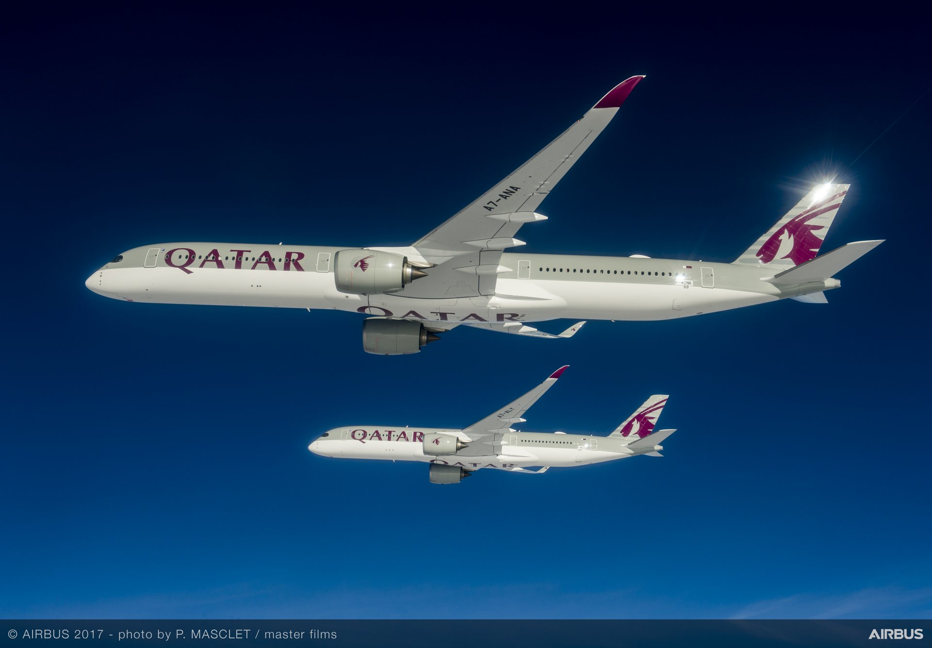 Airbus Delivers First A350 1000 To Qatar Airways Bangalore Aviation