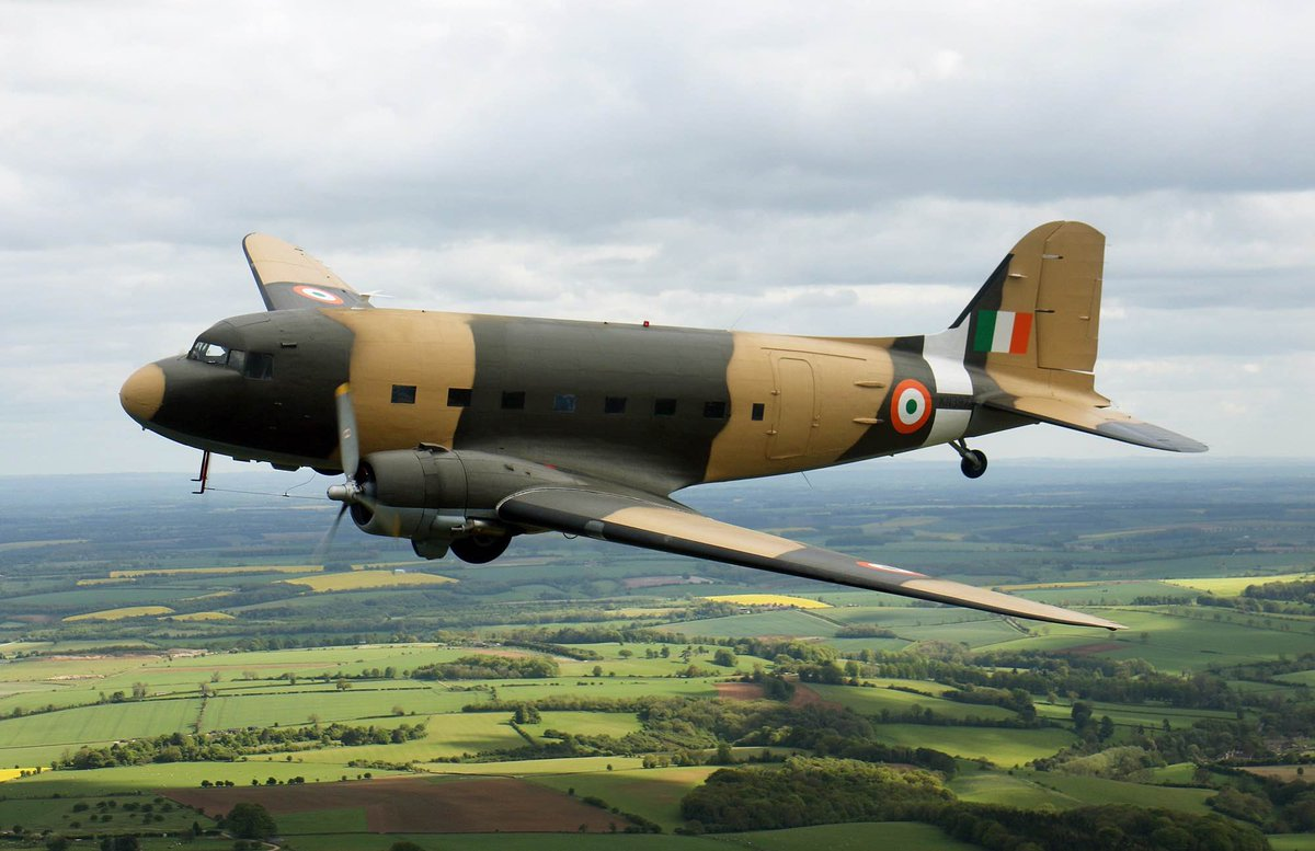Dakota DC-3 accepted into Indian Air Force vintage