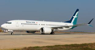 SilkAir Boeing 737 MAX 8 9V-MBB.