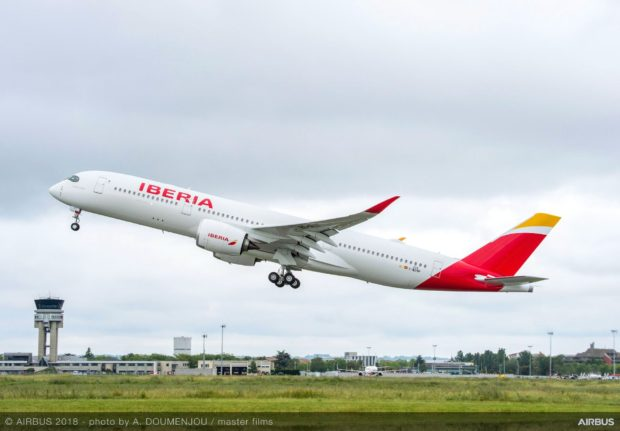Iberia receives first high MTOW A350-900.