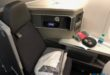 American Airlines Boeing 787-8 Business class seat.