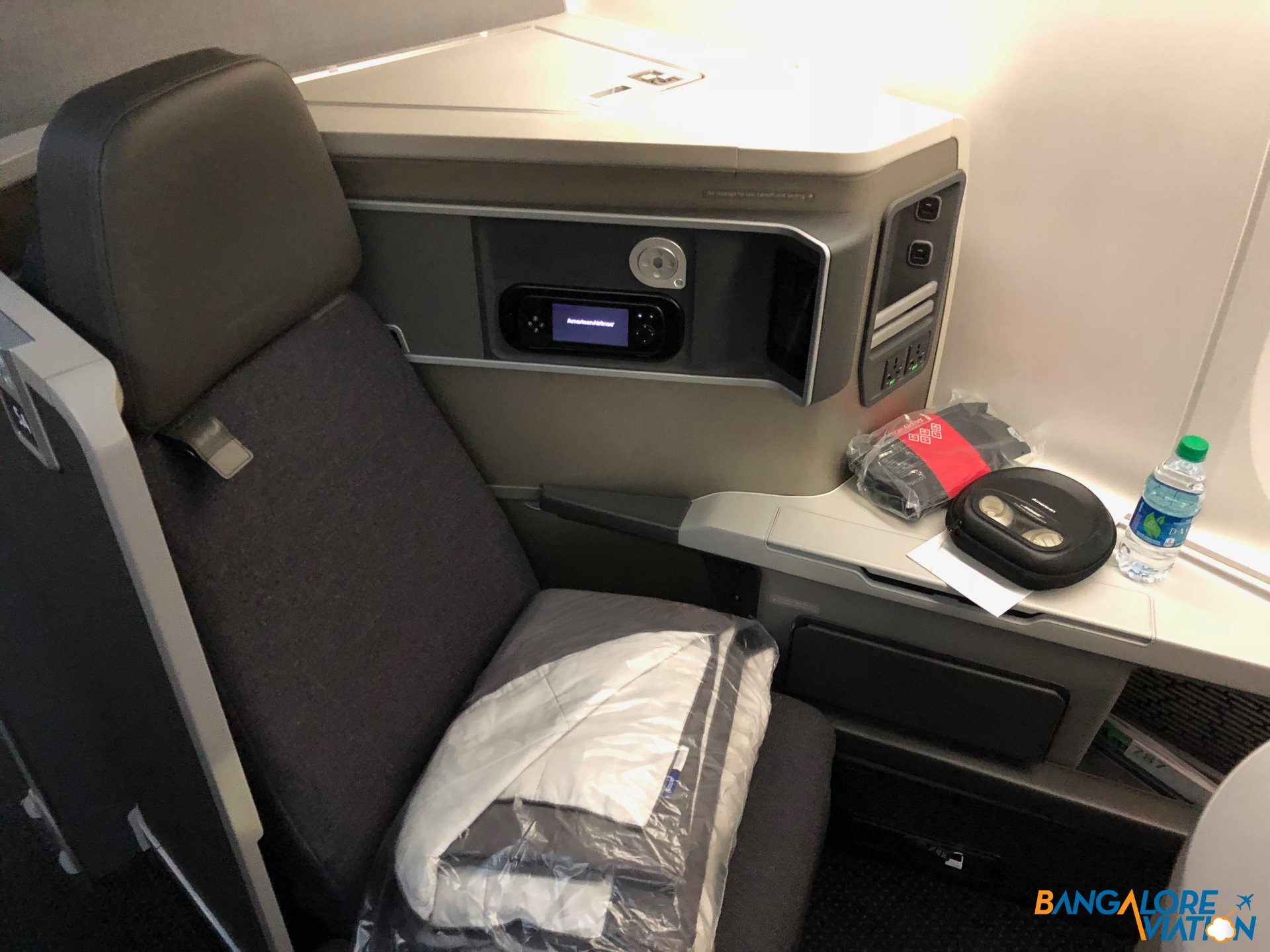 American Airlines Boeing 787 8 Business Class Seat