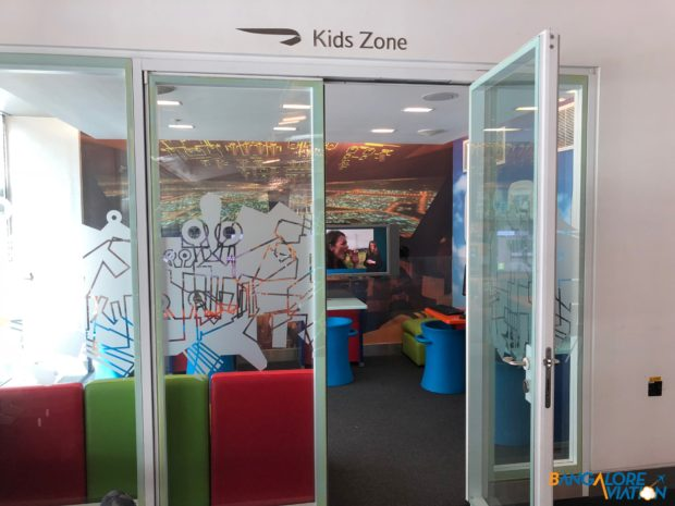 The kids zone at British Airways' Galleries terminal 5B Lounge.