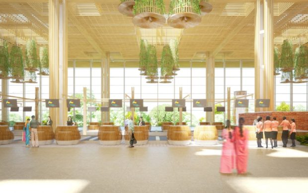 Bangalore Kempegowda Airport Terminal 2 Phase 1 - Artistic impression