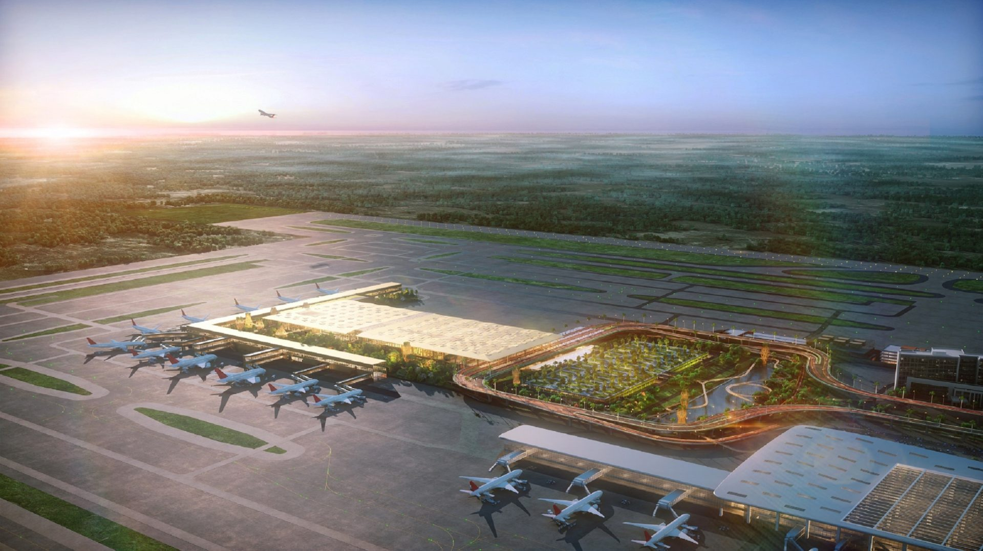 bangalore kempegowda airport embarks on expansion plan to
