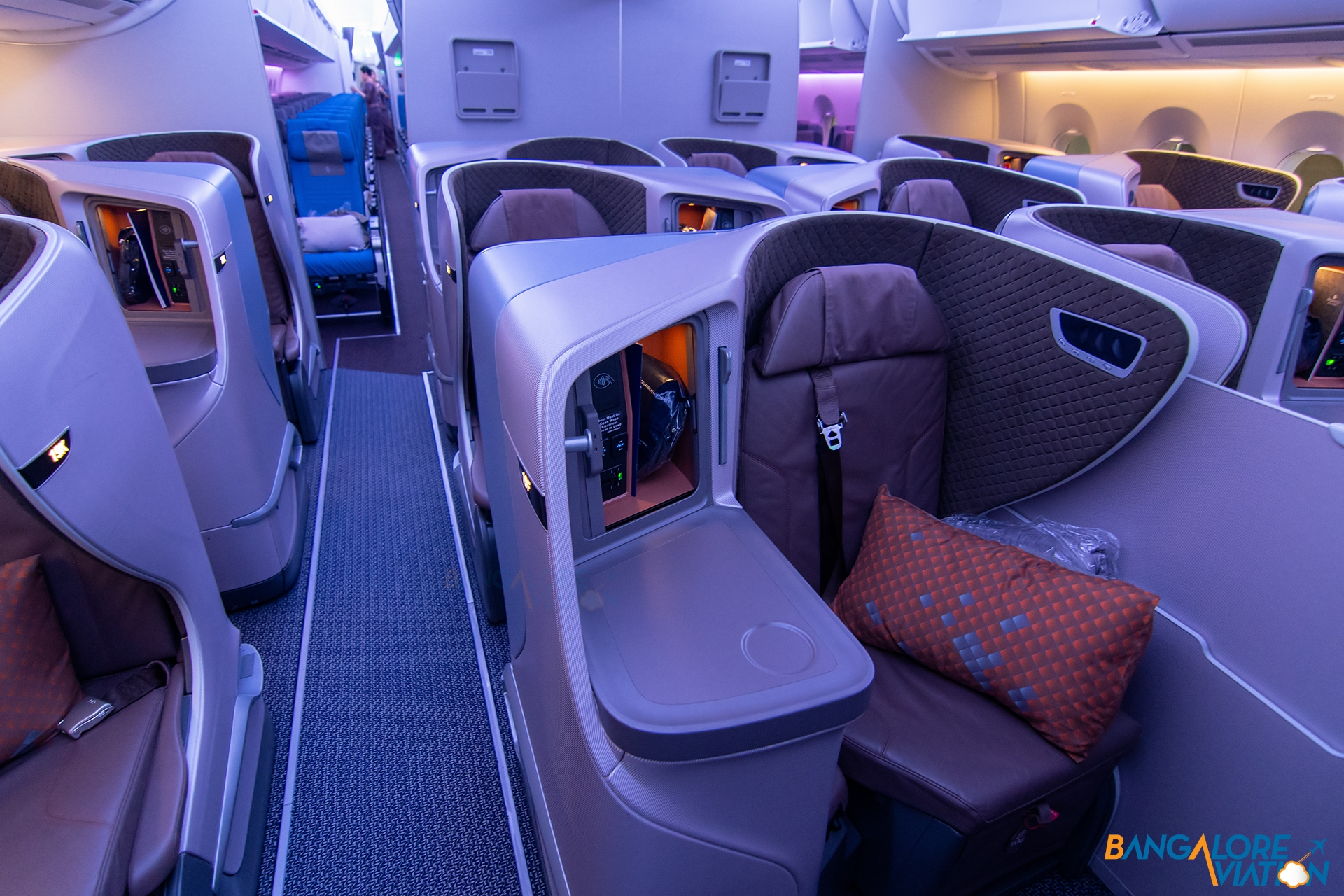 Inflight Review Singapore Airlines Business Class Airbus