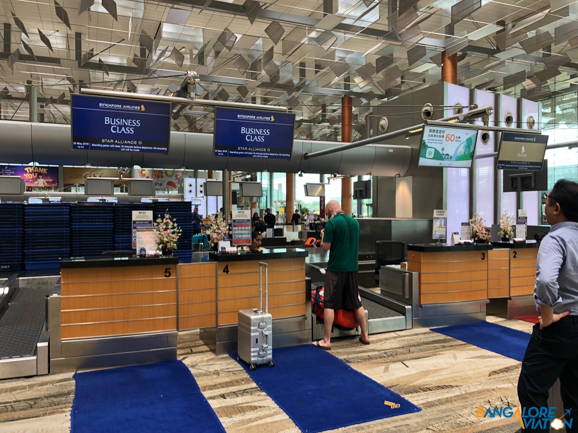 Lounge Review: Singapore Airlines SilverKris Business Lounge